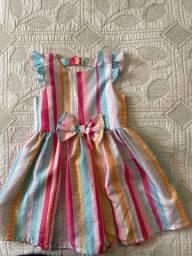 Título do anúncio: Vestido Festa Infantil