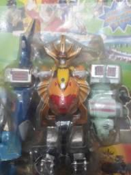 Power Rangers Megazord Antigo Leia Bem