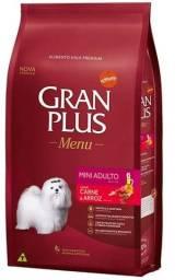 ração granplus menu para cães adultos raças pequenas 15kg