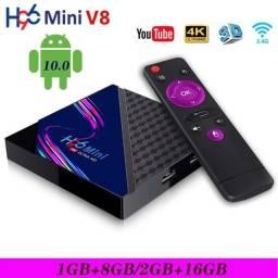 Tv box h96 mini - Entrego em Paranagua