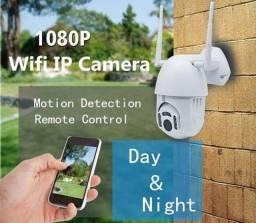 Promoção Câmera Externa Hd Ip Wifi 320º Resistente A Água Smart app v380pro (Novo)
