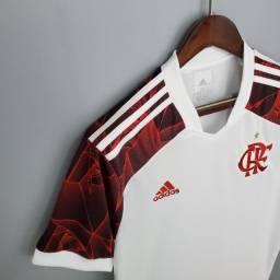 Camisa Flamengo 2021 Branca