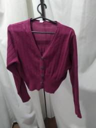 Blusas básicas e casaquinho