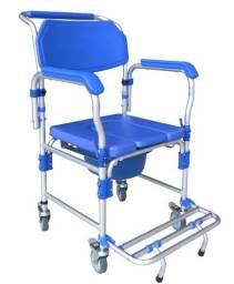 Título do anúncio: Cadeira de banho em alumínio até 150 kg NOVA