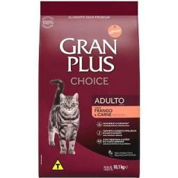 Granplus Gato choice frango ou carne 10 kg -