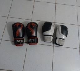 Título do anúncio: 2 par de luva de boxe profissional