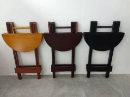 Jogos Bistro Mesa e 2 cadeiras cores Escuras