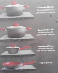 panelas em cerâmico importadas de portugal 160 reais cada.