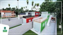 Casa Container 45 metros quadrados - Saia do aluguel ou tenha uma renda de aluguéis