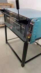 <promoção> forno de lastro elétrico com pedra refratária  90cm