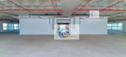 Título do anúncio: Conjunto Comercial de 654m² com 12 vagas de garagem em prédio Triple A novo!