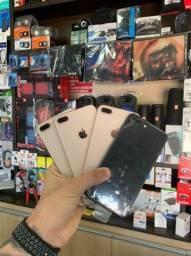 IPhone 8 Plus 64Gb , 256GB NOVO DE VITRINE ( 6 MESES DE GARANTIA )