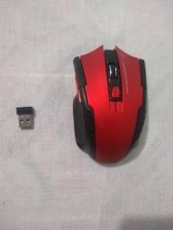 Mouse sem fio 6 botoes