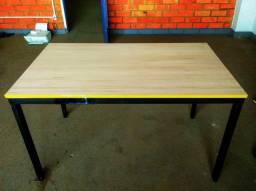 Título do anúncio: Mesa madeira de jantar ou escritório