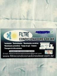 Instalações e limpezas de ar condicionados