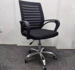 Título do anúncio: Cadeira giratória com regulagem de altura para escritório - NOVA