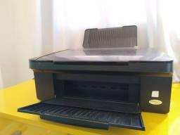 Impressora Epson Stylus Tx115 + cabos + Tinta + Cartucho Recarregável