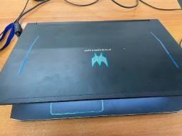 Acer Predator Helios 300 i7 + rtx2060 + 144hz + 256SSD + 2TB HD