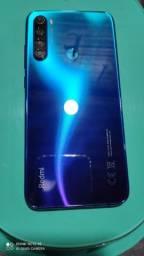 Título do anúncio: Redmi Note 8 Neptune Blue 4/64GB