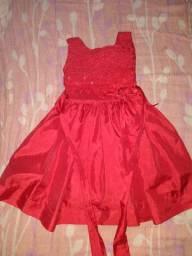 Vestido Infantil<br>Tamanho 1 a 3 anos