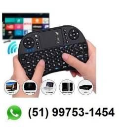 Mini Teclado Sem Fio para TV - Comp