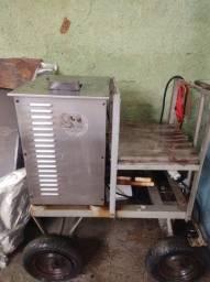 Máquina elétrica caldo de cana
