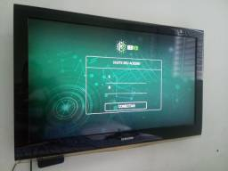 Smart TV 43 via TV Box Netflix YouTube e muito mais