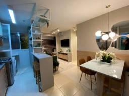 Apartamento com 2 dormitorios e suite com varandas..( JMR) em Novo Aleixo #ce11