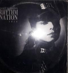 Janet Jackson's- Rhythm Nation - Reliquea Album Disco vinil com Encarte