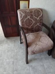 Duas cadeiras de sala