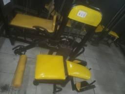 Cadeira Extensora e Mesa Flexora 2x1