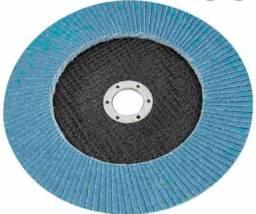 Discos flap 4.1/2 Grão 36/40/60/80/100/120