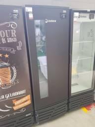 CCV315 Cervejeira Porta Window Com Visor Preta - Imbera