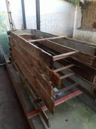 4 forras de portas usadas 2 de 60cm e 2 de 70cm