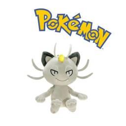 Pokemon Pelúcia Meowth Alola 18cm