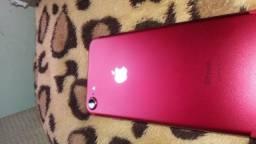 Iphone 7 red 256 Gb c/seguro de quebra /furto e roubo