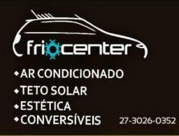 Ar condicionado automotivo, teto solar, vitrificação e acessórios