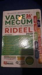Vade Mecum 2018 26° edição Rideel