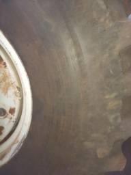 Gerador, par pneus agrícolas, capota trator
