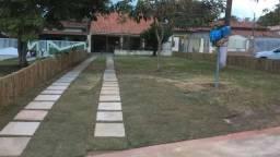 Linda casa em coqueiral de Aracruz, 1000m da praia, 300m2 e 212m2 de área construida, escr