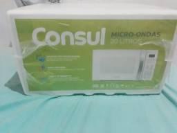 Micro-ondas Consul 20 Litros branco com Função Descongelar