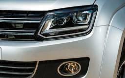 Vw - Volkswagen Amarok 2016 - Faróis de LED - 2016