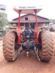 Trator massey ferguson ano 88 três alavanca com redutor de velocidade