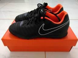 Chuteira Nike Society tiempo N40 Nova na caixa