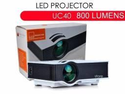 Mini Projetor Uc40+, Hdmi/usb/vga 130 Pol Original Unic