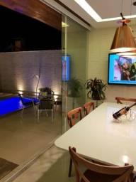 Linda casa 5 dormitórios com piscina em condomínio fechado