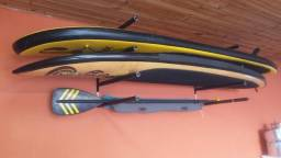 Suporte de Parede para 3 Pranchas de Surf ou Standup
