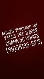 Alguém vendendo iphone 7 plus red ?