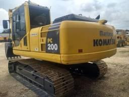 Escavadeira hidráulica komtsu PC 200 - 2012