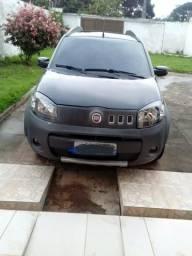 Vendo um Fiat uno preto completo de tudo ano 2011 já financiado - 2011